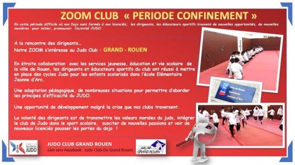 ZOOM Confinement - JC GRAND ROUEN