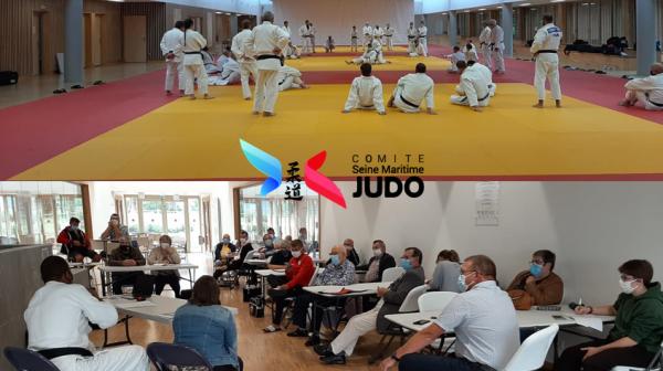 Stage de Rentrée des Enseignants et Dirigeants du Comité de Seine-Maritime de Judo - 2021